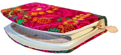 Sphinx multicolored embroidery wallet 2