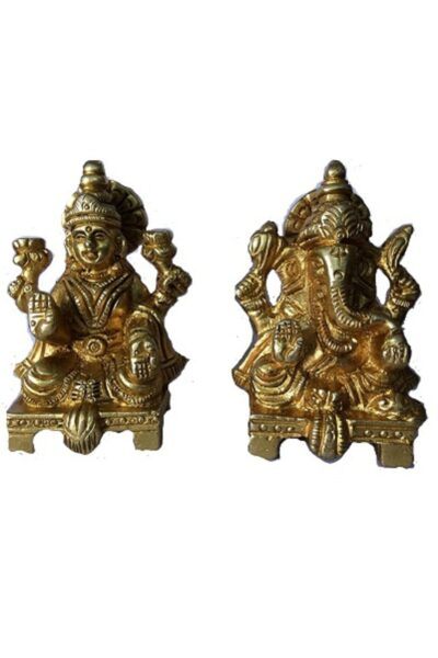 brass lakshmi ganesh 1