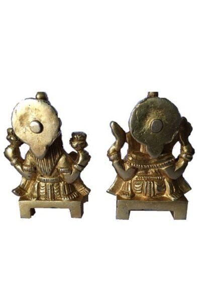 brass lakshmi ganesh 2