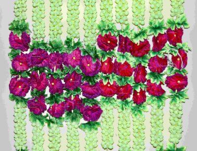 Sphinx Artificial multicolored Jasmine 5