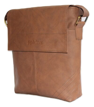 Brown sling bag 1