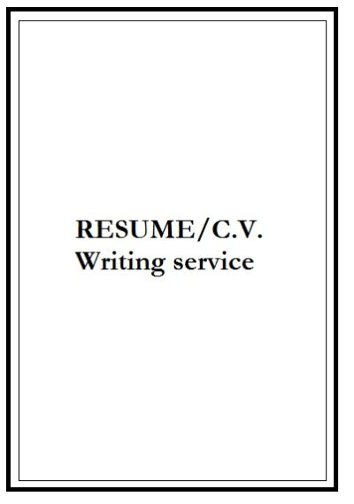 sphinx resume writing services