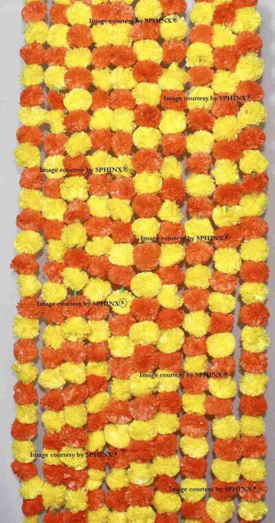 Yellow and dark orange 1-compressed