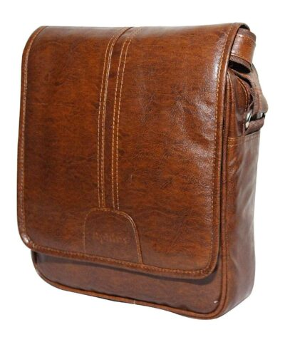 Sphinx artificial leather tan sling bag 1