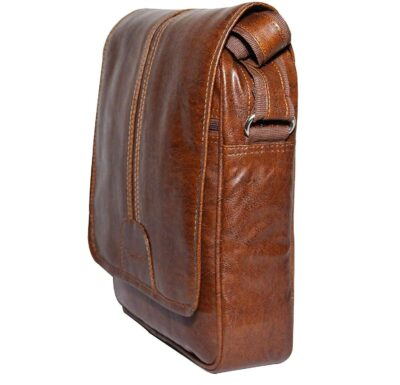 Sphinx artificial leather tan sling bag 2