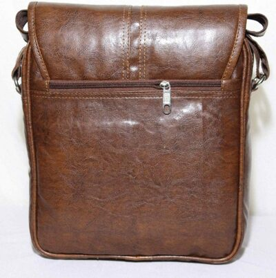 Sphinx artificial leather tan sling bag 3