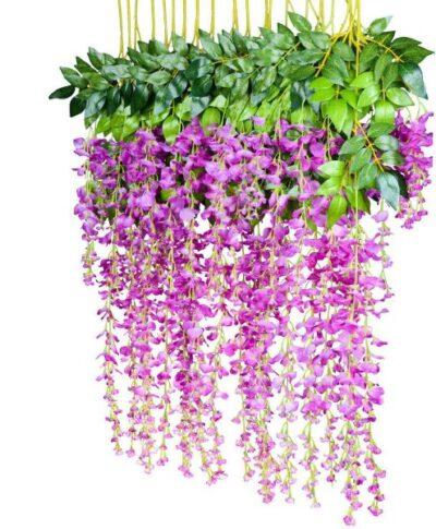 Sphinx artificial wisteria 110 cms purple 1