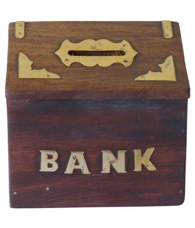 Sphinx Wooden Hut money bank 2