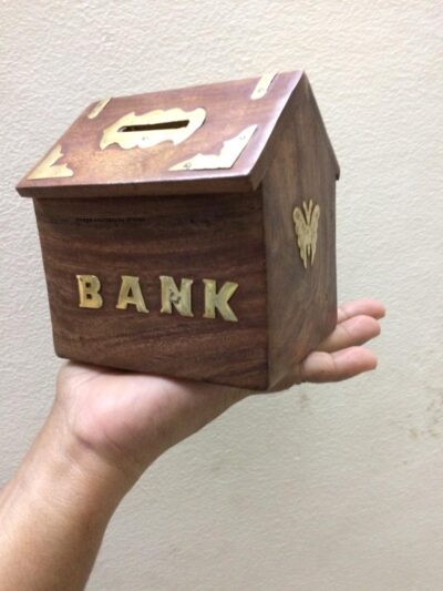 Sphinx Wooden Hut money bank 4