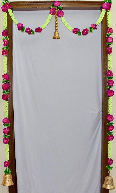 Sphinx jasmine door hangings toran set 1