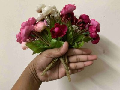 Sphinx artificial small peony 3