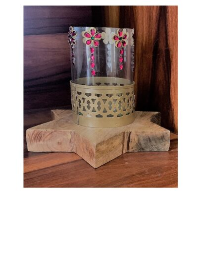 Sphinx star shape based candle holder 1