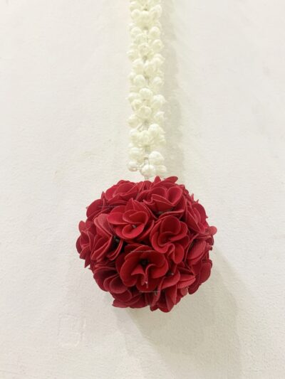 sphinx artificial jasmine string with rose flower ball pack of 2 2