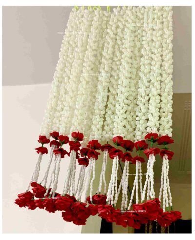 sphinx artificial jasmine and clustered rose strings 4