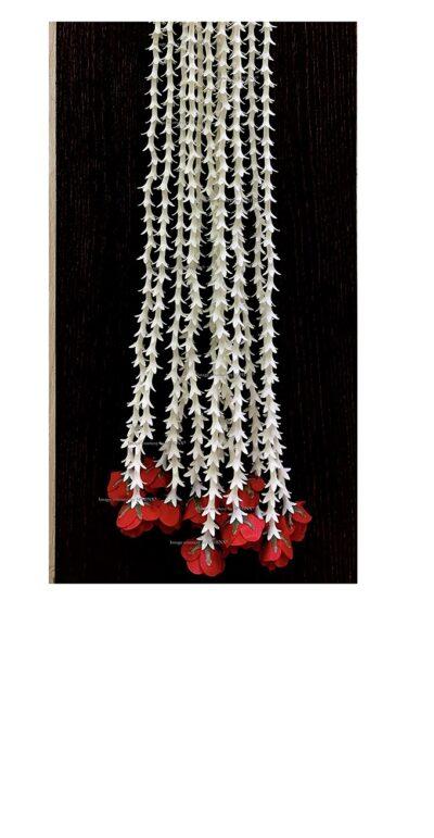 sphinx artificial rajnigandha tuberose with rose strings 2.5 ft 1