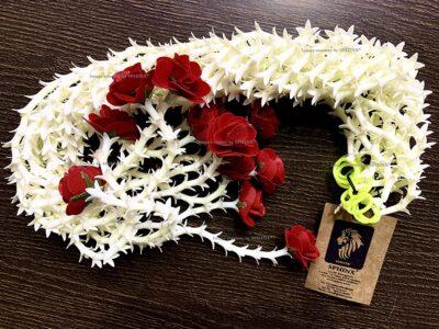 sphinx artificial rajnigandha tuberose with rose strings 2.5 ft 2