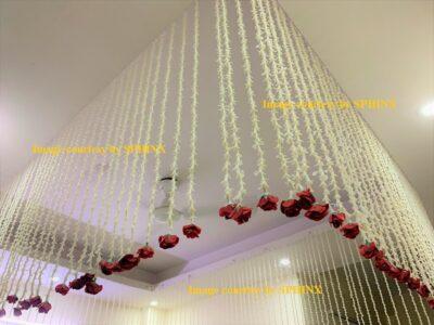 sphinx artificial rajnigandha tuberose with rose strings 2.5 ft 3