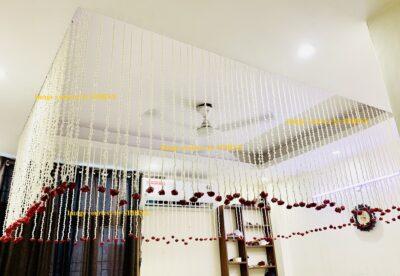 sphinx artificial rajnigandha tuberose with rose strings 2.5 ft 4