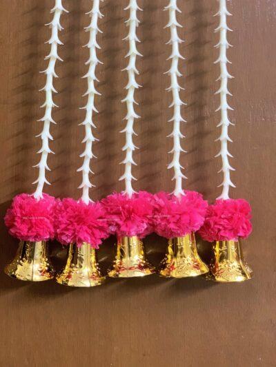 Sphinx artificial rajnigandha tuberose and genda with bell latkan rani 2