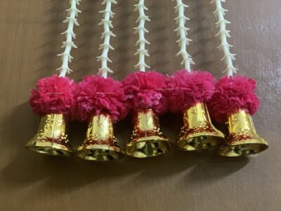 Sphinx artificial rajnigandha tuberose and genda with bell latkan rani 3